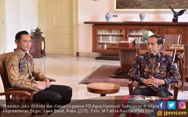 Cerita Mas AHY soal Pak SBY Ucapkan Selamat kepada Presiden Jokowi - JPNN.com
