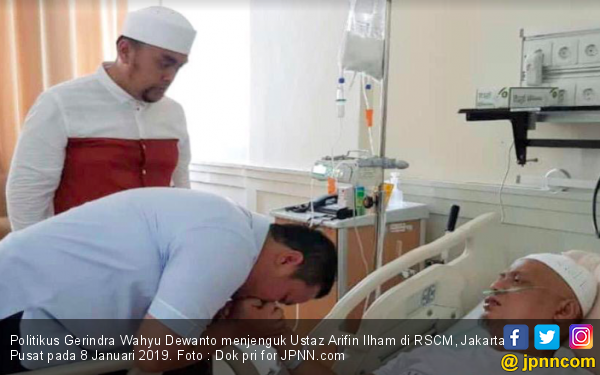 Politikus Gerindra Ini Terpukul Dengar Kepergian Ustaz Arifin Ilham - JPNN.com