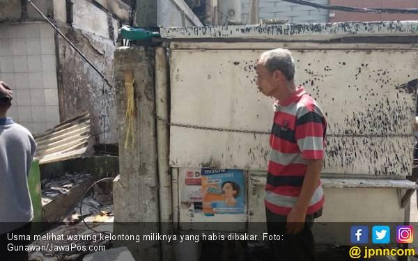 Warung Kelontong Usma Dibakar, Barang Dagangan Dijarah Perusuh - JPNN.com