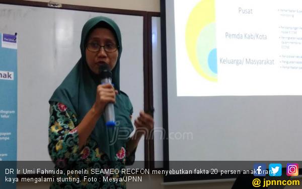 Anak Stunting di Indonesia Terbanyak Ketiga di ASEAN - JPNN.com