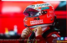Kenangan Niki Lauda Tercitra di Helm Sebastian Vettel - JPNN.com