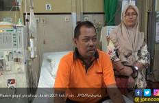 Pola Hidup Tak Sehat, Pria Ini Sudah Cuci Darah Sebanyak 2001 Kali - JPNN.com