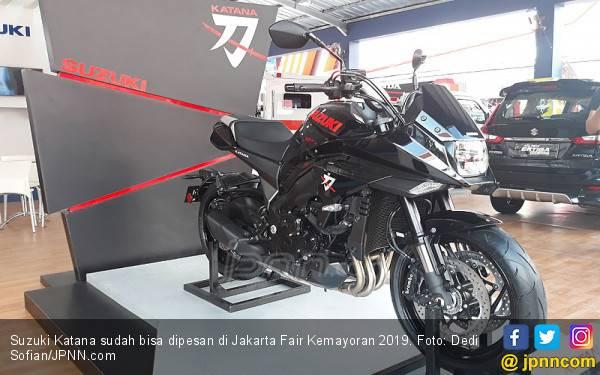 Asyik! Big Bike Suzuki Katana Bisa Dipesan, Kisaran Harga Rp 500 Jutaan - JPNN.com