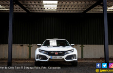 Honda Civic Type R Bergaya Rally, Gahar! - JPNN.com