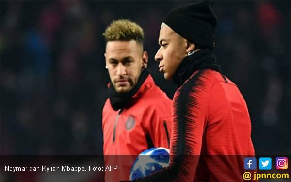 Real Madrid Tinggal Pilih, Neymar atau Kylian Mbappe? - JPNN.com