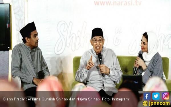 Dikecam Netizen, Glenn Fredly Unggah Foto Kebersamaan dengan Quraish Shihab - JPNN.com