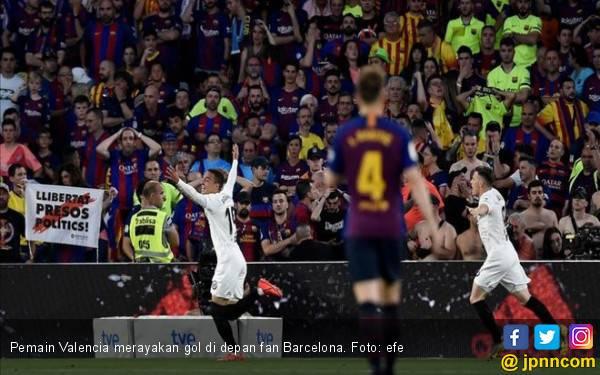 Valencia Permalukan Barcelona di Final Copa del Rey - JPNN.com
