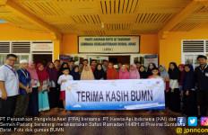 PT PPA - KAI dan PT Semen Padang Bersinergi Gelar Safari Ramadan di Sumbar - JPNN.com