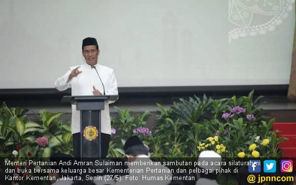 Pesan Menteri Amran Saat Buka Puasa Bersama - JPNN.com