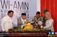 Rayakan Kemenangan Jokowi - Kiai Ma'ruf, Barisan Nusantara Berbagi Dengan Anak Yatim - JPNN.com