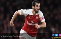 Final Liga Europa: Sampai Sekadar Nama Henrikh Mkhitaryan di Jersey juga Dilarang - JPNN.com