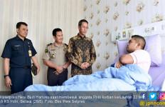 Dijenguk Utusan Jokowi, Polisi Korban Kerusuhan 22 Mei Ada yang Minta Sepeda - JPNN.com