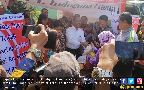 PT Indoguna Utama Suplai Daging Sapi di TTI Center Kota Bogor - JPNN.com