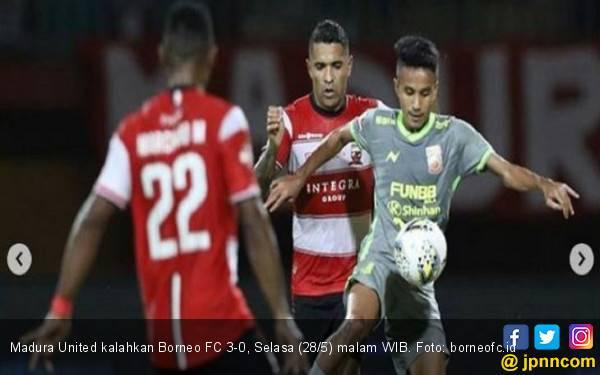 Tekuk Borneo FC, Madura United Duduki Puncak Klasemen Sementara - JPNN.com