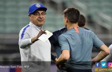 Jelang Chelsea Vs Arsenal, Sarri Marah-Marah, Higuain dan David Luiz Bentrok - JPNN.com