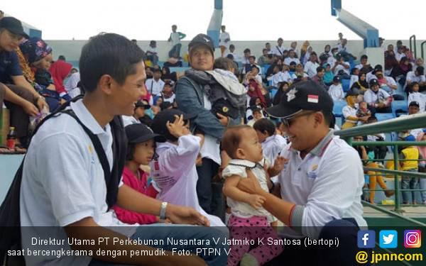 Mudik Gratis BUMN: PTPN V Berangkatkan 1.080 Pemudik - JPNN.com