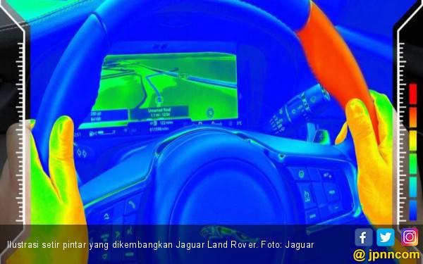 Jaguar Kembangkan Setir Pintar Sebagai Fitur Keamanan Baru - JPNN.com