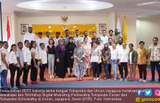 Kemendes PDTT Sosialisasi Tokopedia Scholarship di Universitas Cenderawasih - JPNN.com