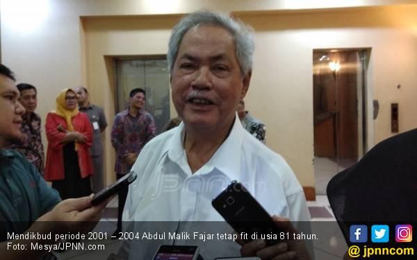 Lima Pesan Abdul Malik Fajar untuk Para Pensiunan - JPNN.com