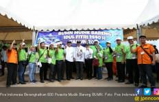 Pos Indonesia Berangkatkan 600 Peserta Mudik Bareng BUMN - JPNN.com