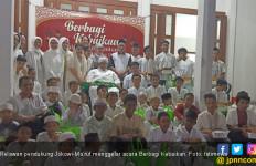 Empat Komunitas Relawan Jokowi Gelar Acara Berbagi Kebaikan - JPNN.com