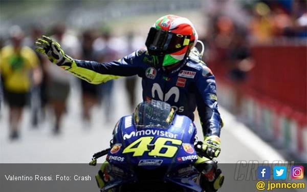 Punya Rekor Bagus, Valentino Rossi Bakal Berjaya di Barcelona? - JPNN.com