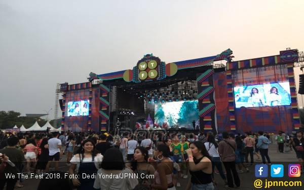 Warpaint dan Dipha Barus Ramaikan We The Fest 2019 - JPNN.com