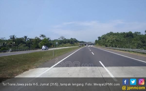 Tol Trans Jawa H-5 Lebaran Lengang, Jakarta – Semarang 7 Jam - JPNN.com