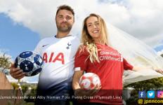 Fan Tottenham dan Liverpool Menikah di Hari Final Liga Champions - JPNN.com