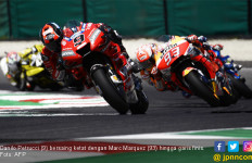 Kemenangan Petrucci di MotoGP Italia Memakan Korban, 6 Rider Termasuk Rossi - JPNN.com