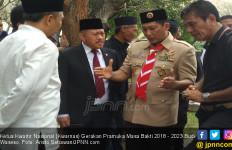 Salam Pramuka! Kak Buwas Keluhkan Pendapatan Hingga Revisi UU di Hadapan Presiden Jokowi - JPNN.com
