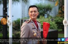 Cerita Dirlantas Polda Papua Pimpin Upacara Hari Pancasila di Hadapan Jokowi - JPNN.com