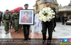 Atun Sampai Menunda Mudik Demi Melihat Langsung Pemakaman Bu Ani Yudhoyono - JPNN.com