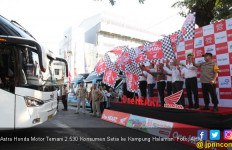 Astra Honda Motor Temani 2.530 Konsumen Setia ke Kampung Halaman - JPNN.com
