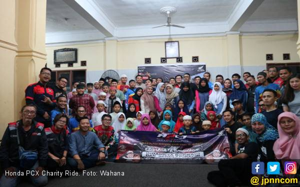 Honda PCX Club Indonesia Menutup Ramadan dengan Kegiatan Positif - JPNN.com