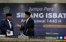 Penetapan 1 Syawal 5 Juni, DPR: Ini Suatu Prestasi Baik, Semoga Dilanjutkan - JPNN.com