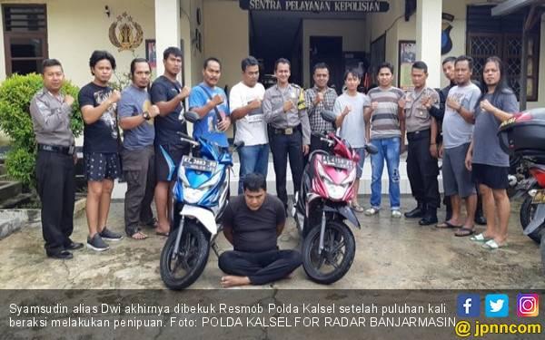 Syamsudin Ditangkap Polisi, Lihat tuh Fotonya - JPNN.com