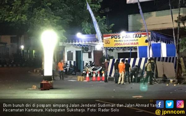Kata Pedagang Angkringan soal Suara Ledakan Bom Kartasura - JPNN.com