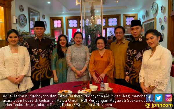 Lebaran, AHY dan Ibas Tidak Kunjungi Prabowo, Mengapa? - JPNN.com