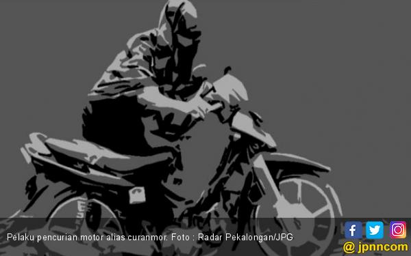 Tumben, Pelaku Curanmor Tinggalkan Motor Curian di Pinggir Jalan - JPNN.com