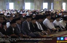 Begini Isi Ceramah di Istiqlal Saat Salat Id yang Dihadiri Presiden Jokowi - JPNN.com