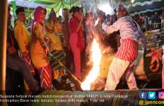 Meriah, Festival Meriam Karbit Sambut Idulfitri - JPNN.com