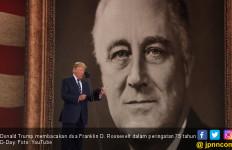 Trump Bacakan Doa Roosevelt di Peringatan 75 Tahun D-Day - JPNN.com