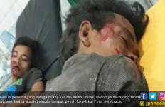 Dua Pengendara Hilang Kontrol Akibat Miras, Lihat Lukanya Cukup Parah - JPNN.com