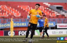 Cerita Kiper Borneo FC Lebaran Bareng Timnas U-23 Indonesia - JPNN.com