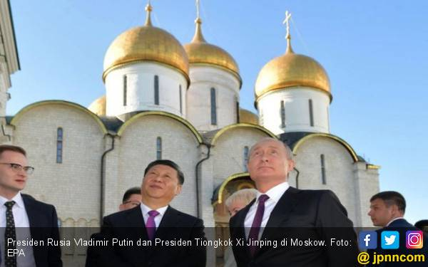 AS Agresif Serang Huawei, Rusia dan Tiongkok Makin Mesra - JPNN.com
