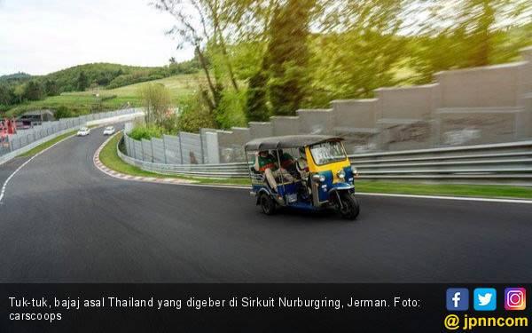 Ide Gila! Bajaj Digeber di Sirkuit Nurburgring, Ini Catatan Waktunya - JPNN.com