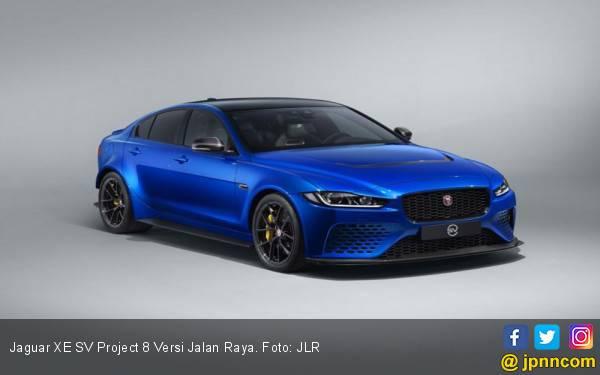 Jaguar XE SV Project 8 Versi Jalan Raya Kian Eksklusif Hanya 15 Unit - JPNN.com