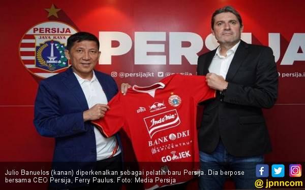 Julio Banuelos Resmi Tukangi Persija Jakarta - JPNN.com