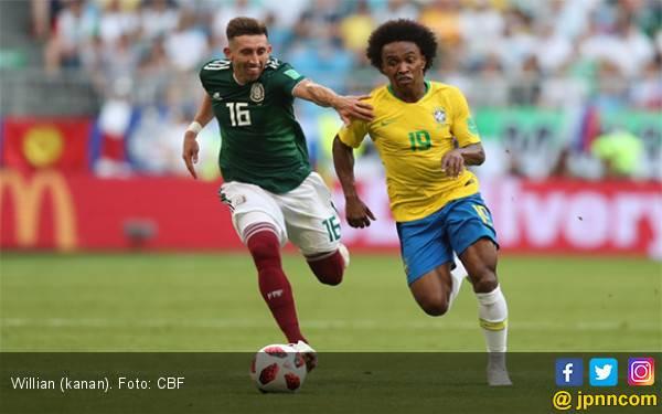 Copa America 2019: Willian Isi Tempat yang Ditinggal Neymar di Timnas Brasil - JPNN.com